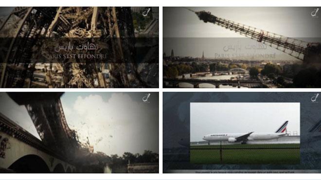 Tour Eiffel effondrée, avion Air France... Daesh annonce des attentats