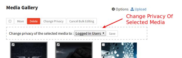 bulk edit change privacy