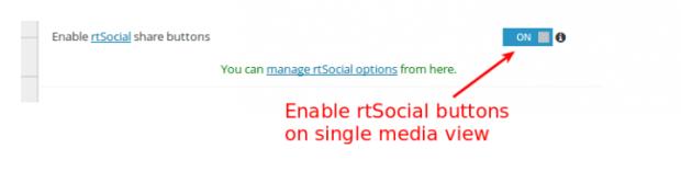 rtSocial-rtmedia-admin-setting
