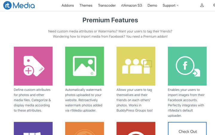 rtMedia Premium Features Image Caption