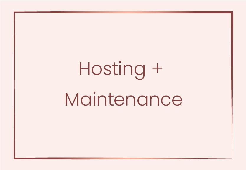 Hosting-+-Maintenance