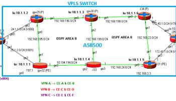 MPLS/RSVP and BGP L3VPN #4 | RtoDto net