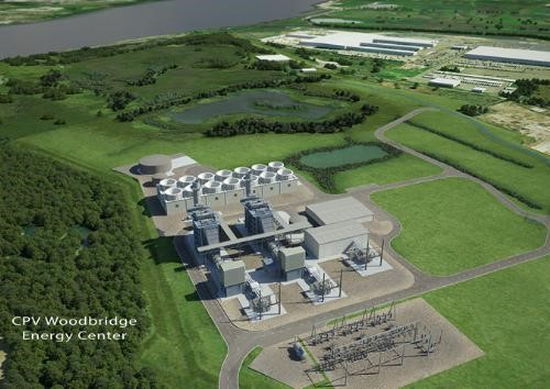 Planned Woodbridge Energy Center (Source: Competitive Power Ventures)