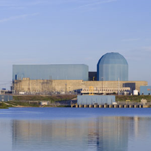Exelon Clinton Nuclear Plant in Illinois nuclear power, coal power