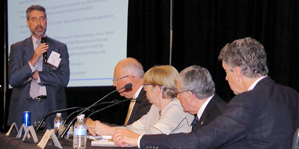 RTO Board Members on a panel at the EBA Annual Meeting