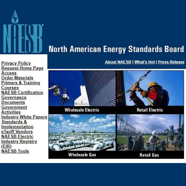 FERC Proposes Adopting NAESB Standards