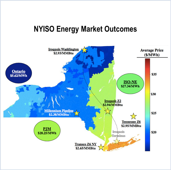 NYISO market monitor nuclear hydropower