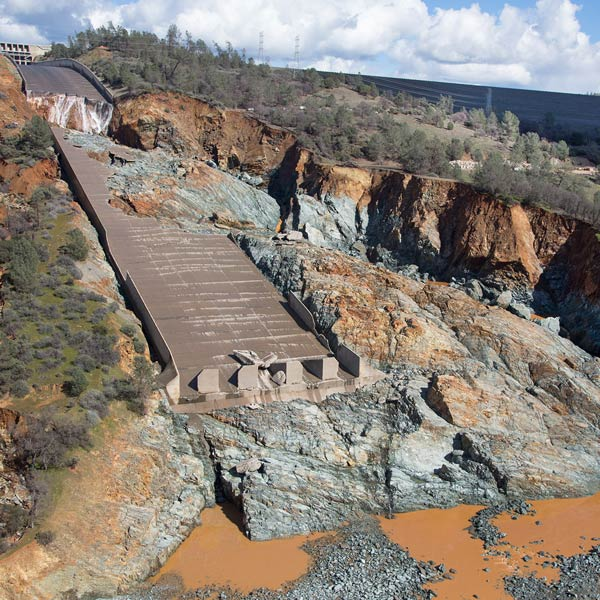 FERC EPA Oroville Dam locality exchange factor