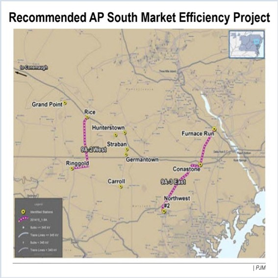 ferc transource AP south congestion