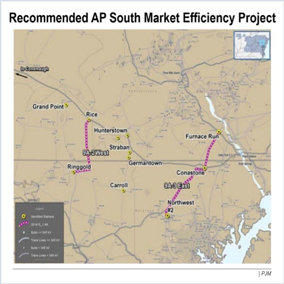 AP south congestion project ferc transource energy