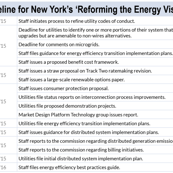 reforming the energy vision