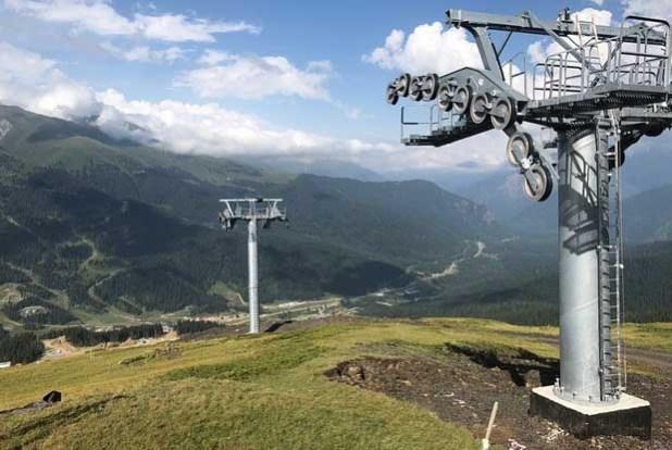 Пять новых горнолыжных трасс откроются на курорте «Архыз» зимой