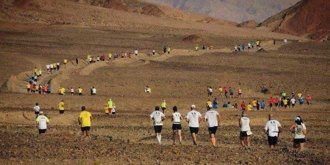 Эйлат приглашает туристов на «Марафон по пустыне»