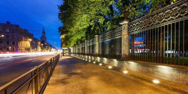 Где в Петербурге погулять вечерком?