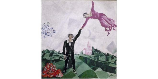 В Летнем саду будут угощать картиной Марка Шагала