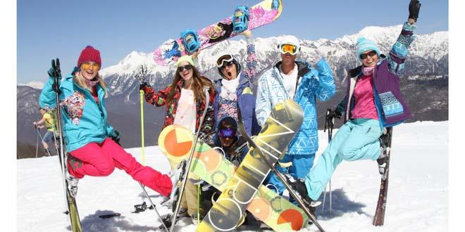 Горные курорты Сочи в новогодние каникулы посетило 355 тыс. человек