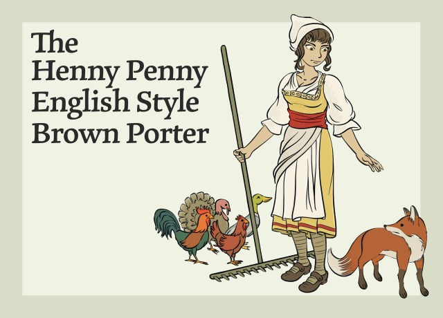This image shows the Henny Penny English Style Brown Porter.