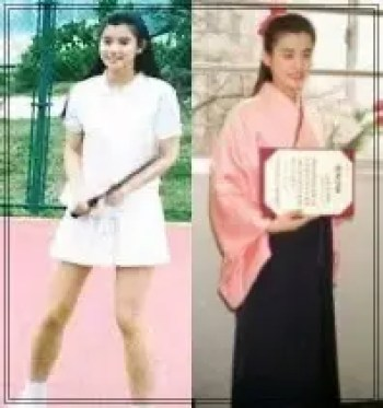 石田ゆり子,女優,タレント,若い頃,可愛い,学生時代