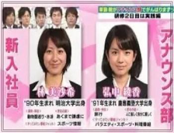 林美沙希,アナウンサー,テレビ朝日,可愛い,若い頃,入社当時