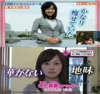 水卜麻美,アナウンサー,日本テレビ,可愛い,若い頃,入社当時