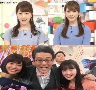 三上真奈,アナウンサー,フジテレビ,可愛い,若い頃,2017年