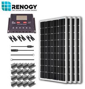 400 Watt Complete RV Solar Kit for ONLY $595!