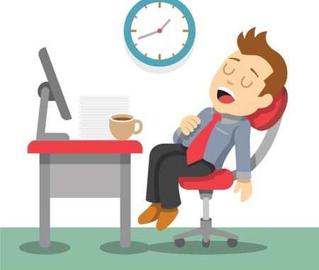 fatigued working