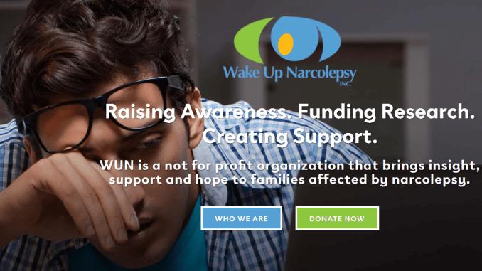 wake up narcolepsy website