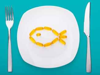 fish oil on place setting