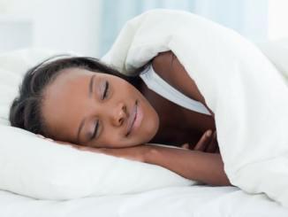 woman sleeping diabetes