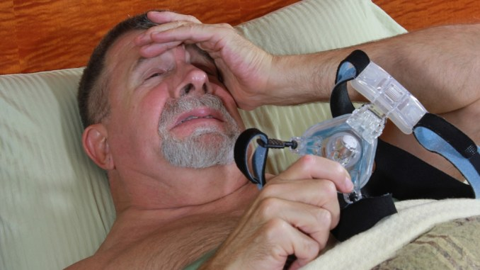 frustrated with cpap