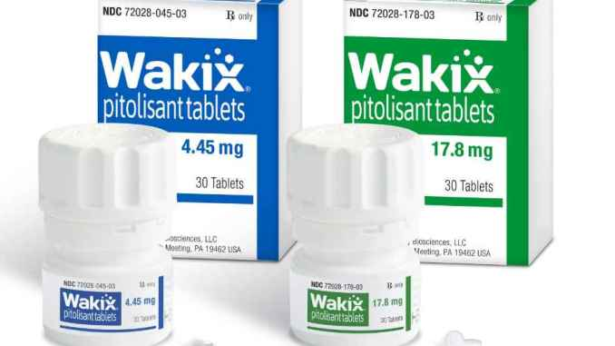 harmony biosciences Wakix-bottles