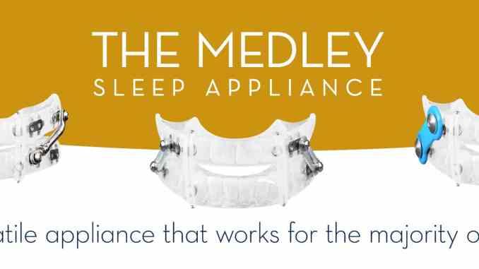 medley sleep oral appliance