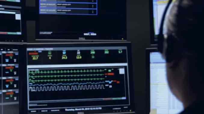 Capsule Ventilated Patient Surveillance Workstation