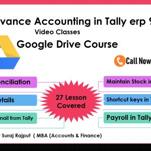 tally erp 9 course