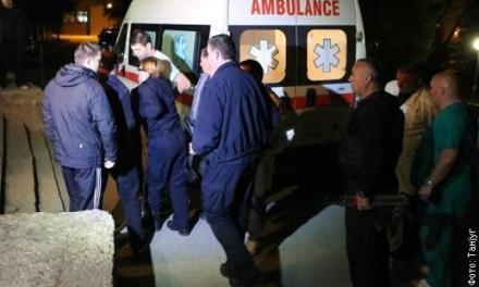 Ranjeni srpski policajci