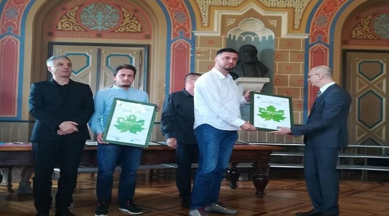 Rendžeri specijalnog rezervata Peštersko polje dobitnici Zelenog lista