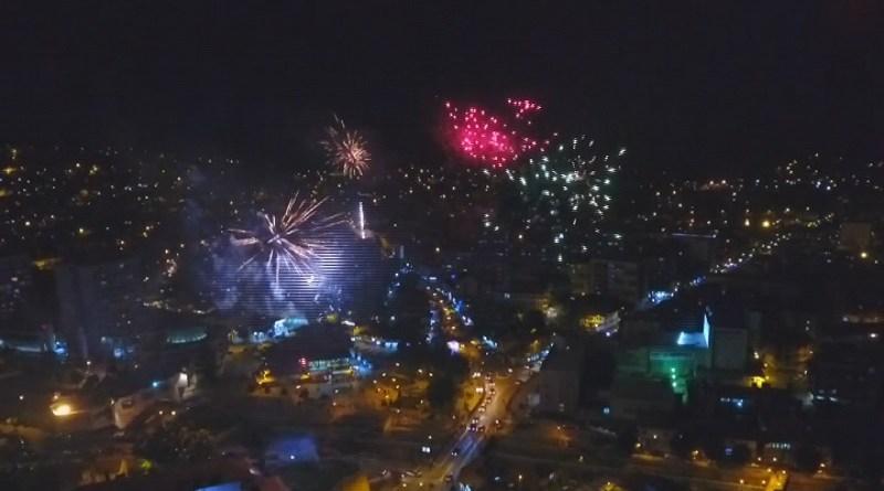 Spektakl: Bajramski vatromet obasjao Novi Pazar