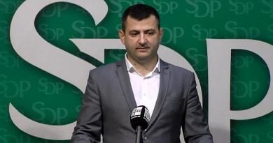"""Spektakularna proslava """"Decenije uspjeha"""" SDP-a"""