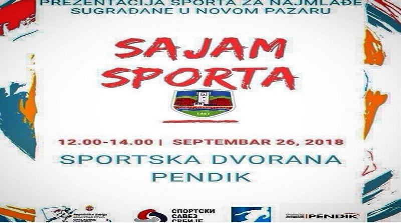Sve je spremno za Mali sajam sporta u Novom Pazaru