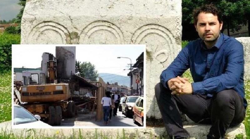 Povodom rušenja Arap džamije oglasio se unuk Maka Dizdara