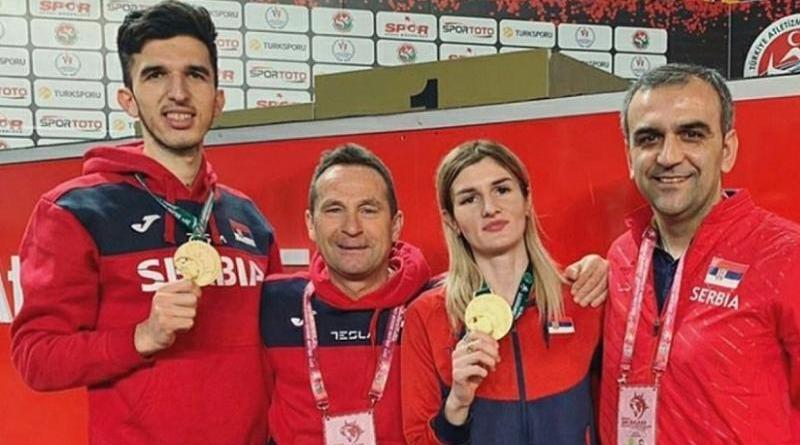 Elzan i Amela zlatni na PB u Istanbulu