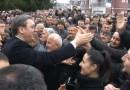 Vučić u Tutinu: Za godinu dana otvaram put sa Erdoganom, gradićemo trafostanicu i vodovod