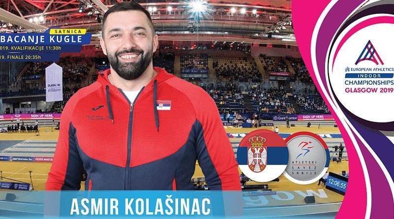 Asmir Kolašinac u Sarajevu: Treniram u kućnim uslovima