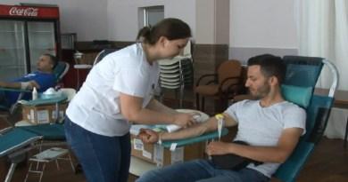 Sutra redovna akcija dobrovoljnog darivanja krvi
