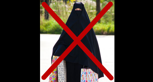 Danimarka ndalon veshjen e burkas dhe nikabit në publik