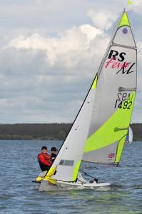 RS Fevas at Grafham Water SC 22 Apr 12