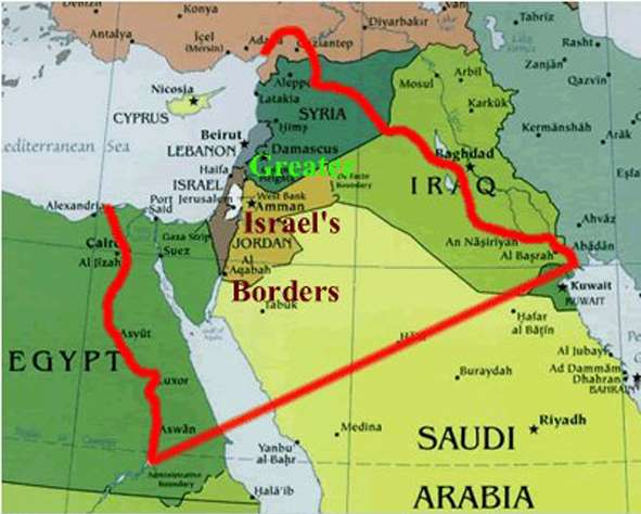 """Greater Israel"" will be built on the bones of Arabs"