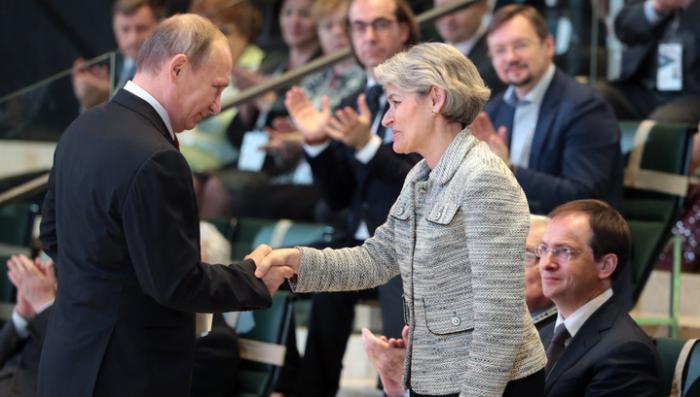 Владимир Путин призвал остановить подпитку боевиков ИГ за счёт продажи древностей