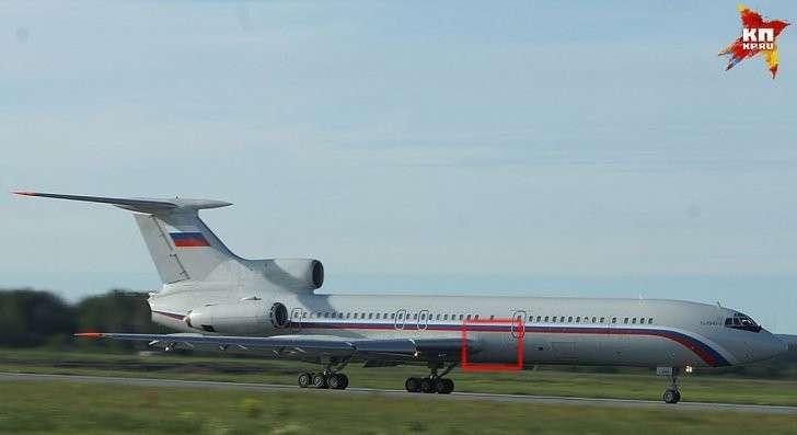 Обломок соответствует части фюзеляжа, выделенной на фото Фото: Алексей БУЛАТОВ